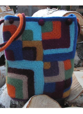 Mitered Square Quilt Tote Pattern