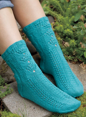 Sea Shell Socks