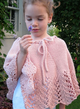 Free Knitting Pattern For Childs Poncho : Pixie Child Poncho - Knitting Patterns and Crochet Patterns from KnitPicks.com