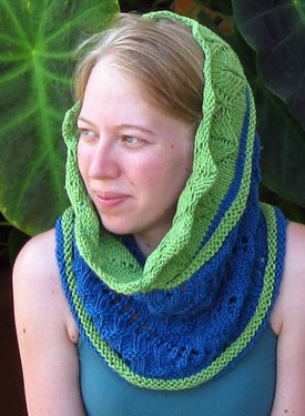 Withig Wimple, Cowl and Circular Scarf