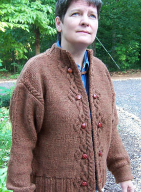 Celtic Closure Cardigan