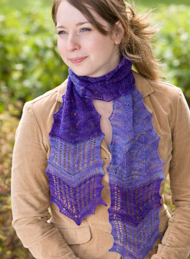 Two-In-One Lace Scarf