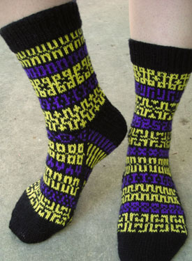 Mix it Up Pattern Socks