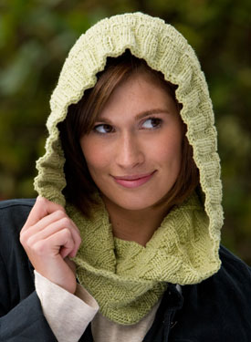 Kombu Moebius Cowl & Hood for Child & Adult