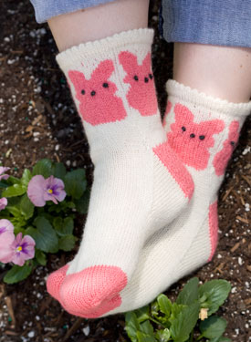 Marshmallow Bunnies Socks