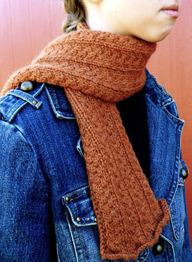 Delicate: Dutch Braids Neck Warmer