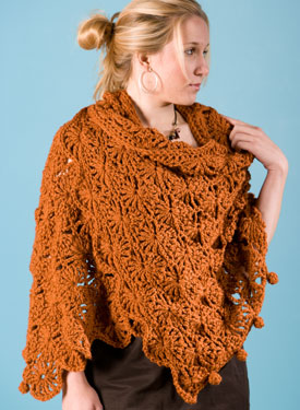 SunRays Crochet Shrug & Shawl
