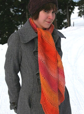 Heidi Mountain Scarf