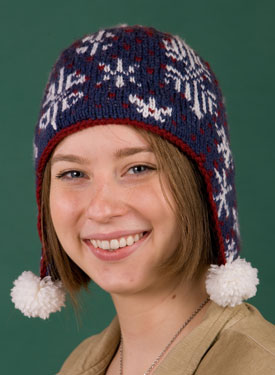 Snowflake Dance Hat