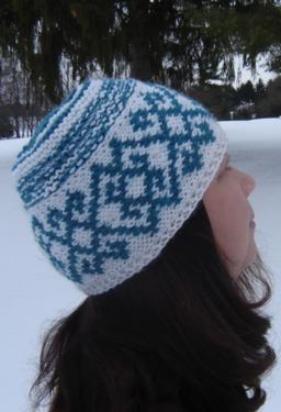 Winter Tracery Hat