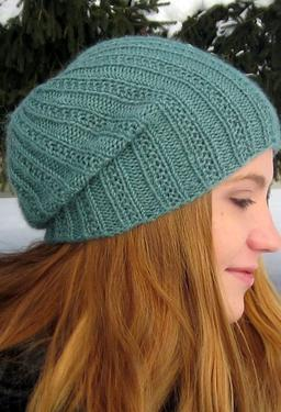 Mens Slouchy Beanie Knitting Pattern Free : Pearmain Slouchy Beanie - Knitting Patterns and Crochet Patterns from KnitPic...