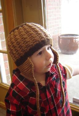 Earflaps Child Hat
