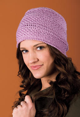 Seeds and Stripes Crochet Cloche