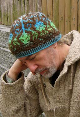 Thistle and Shamrock Beanie