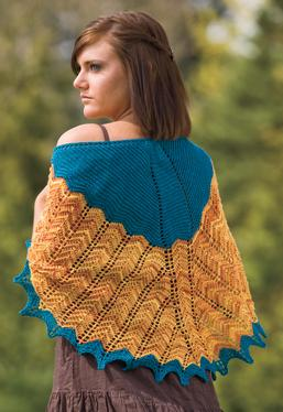 Baker's Cove Shawl