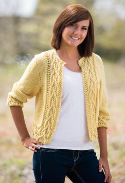 Braided Cable Sweater