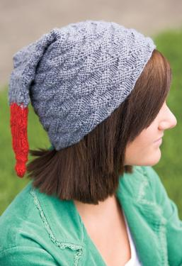 Textured Flying Geese Hat