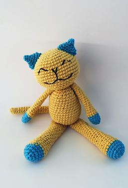 Cute Cotton Crochet Kitty