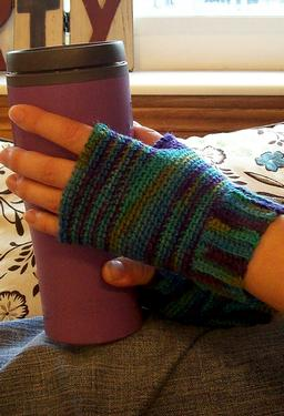 Imagination Fingerless Crochet Gloves