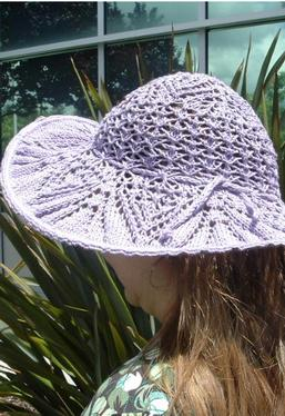 Doily Inspired Lace Hat