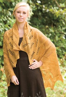 Tuscan Sunflower Shawl