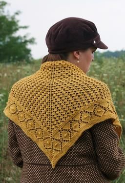 Daisy Chains Shawl