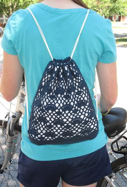Mill Stream Crochet Backpack