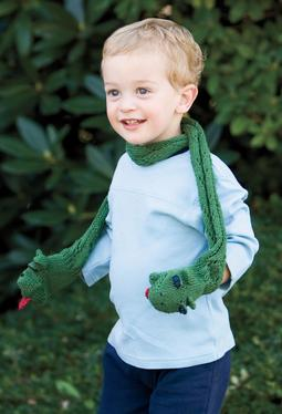 Snake Puppet Scarf