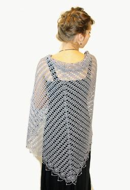 Wrapped in Lace Crochet Shawl