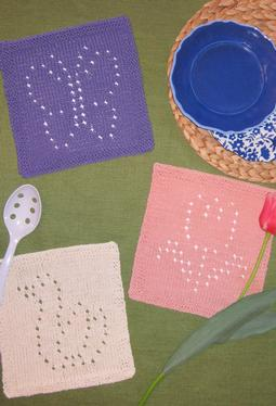 Springtime Dishcloths