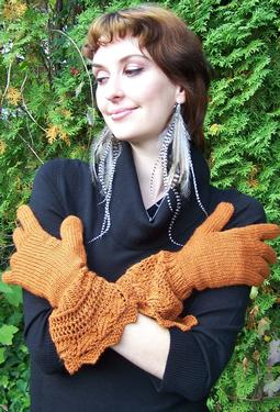 Pretty Pirate Princess Gloves
