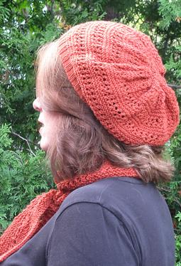 Harvest Spice Hat & Scarf Set