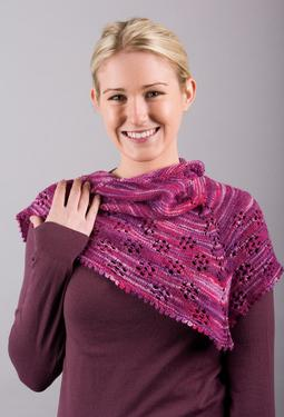 Friendliest Flower Shawl