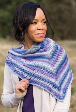 Asymmetry Shawl