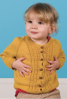 Frank & Mathilda Child Cardigan