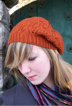 Falling Leaves Beret/Slouch Hat