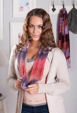 Richmond Lace Infinity Crochet Scarf