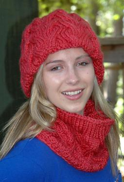 Mary Jane Hat & Cowl