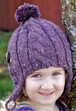 Coffee Bean Earflap Hat