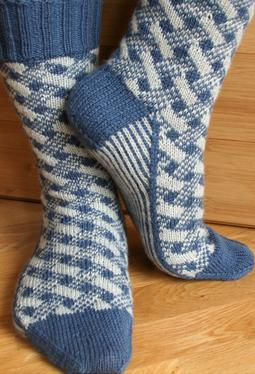 Plaid Play: Lattice Socks