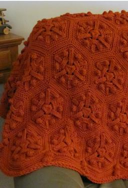 Just Right Crochet Afghan