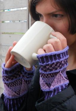 Lily Fingerless Mitts