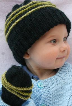 PlayTime Hat and Mitten Set