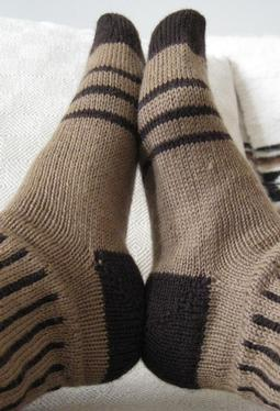 Stripes and Spaces Socks