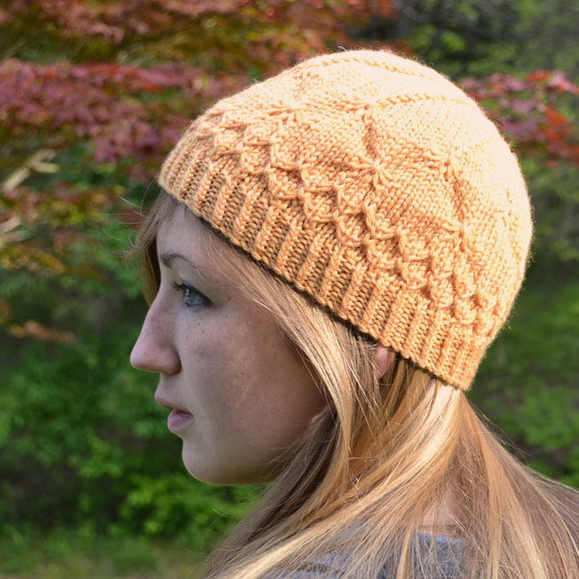 Honeybee Cap and Beret Pattern