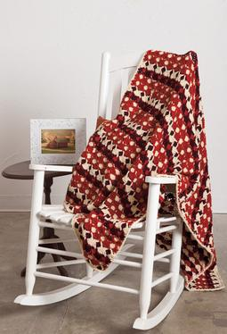 Spiced Shells Crochet Afghan