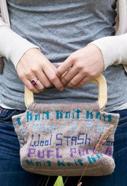 Knitter's Project Bag
