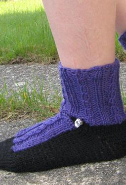 Fancy Shoes Slipper Socks
