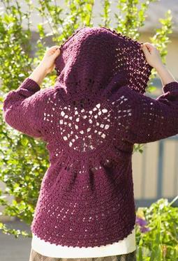Heather on the Hill Versatile Circle Crochet Bolero