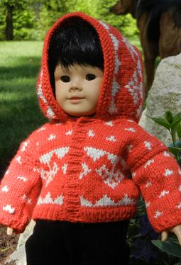Hooded Doll Sweater